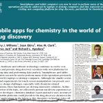 Mobile apps for chemistry in the world of drug discovery